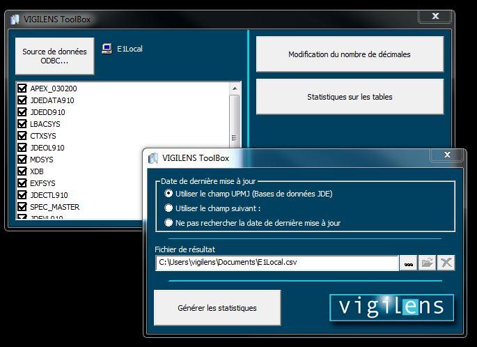 Vigilens ToolBox
